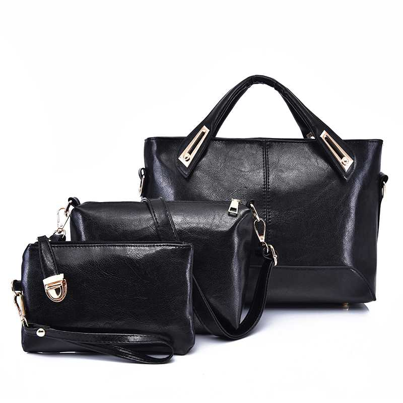 3 Sets Totes Leather Fashion Women Bag Designer Handbags Brand Top-Handle Bag  Classic Simple Composite Shoulder Bag For Lady3 Sets Totes Leather Fashion Women Bag Designer Handbags Brand Top-Handle Bag  Classic Simple Composite Shoulder Bag For Lady