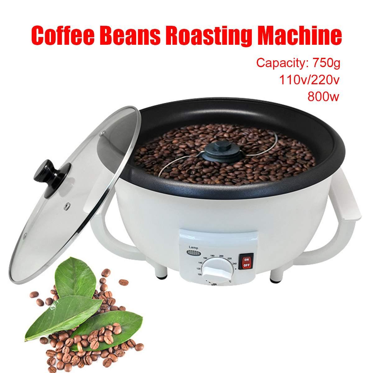 Électrique Café haricots torréfacteur Machine à torréfier les arachides Artefact Café Haricots Cuisson Machine Ménage Séchage