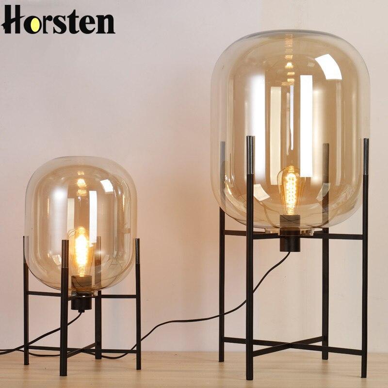 Modern Floor Lights Standing Lamps For Living Room Loft: Modern Minimalist Nordic Floor Lamp Loft Glass Ball Table