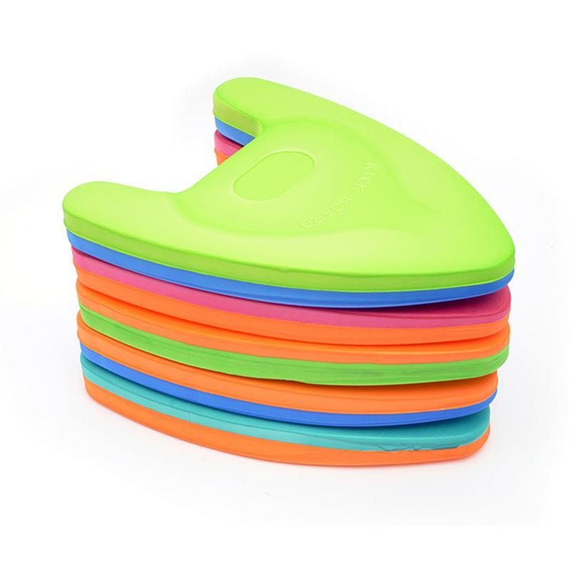 Summer EVA Foam Back Float Kickboard Safe Training Aid Plate Board Surf Water Adult Children Swim Tool Hand Board Swimming Plate