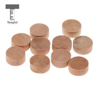 10 sztuk wody klucz Waterkey pluć wartość korek Pad dla trąbka puzon akcesoria do naprawy średnica 10mm grubość 4mm tanie i dobre opinie Tooyful Cork Pad 01