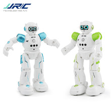 JJRC R11 CADY WIKE / R12 CADY WISO Smart RC Robot Gesture Sensing Touch Intelligent Programming Dancing Patrol Toy ZLRC 2018 new intelligent cady wigi jjrc r6 remote control programmable dancing usb rc robot t vader stormtrooper model toy for kids