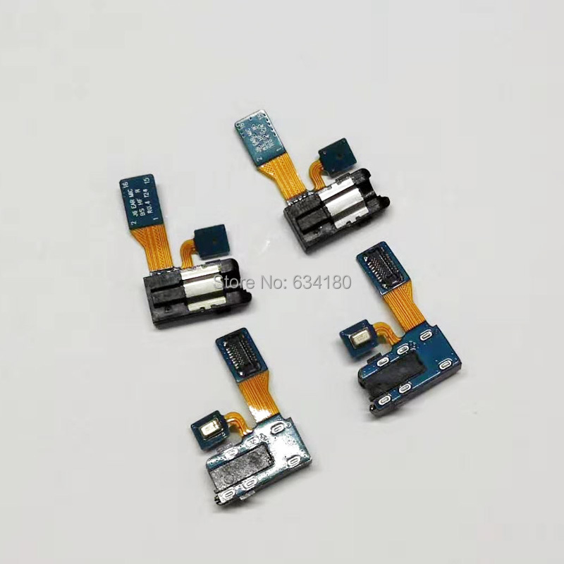 Earphone Audio Jack Headphone Socket Headset Port Flex Cable + Microphone For Samsung Galaxy J6 2018 J600F A6 2018 A600F