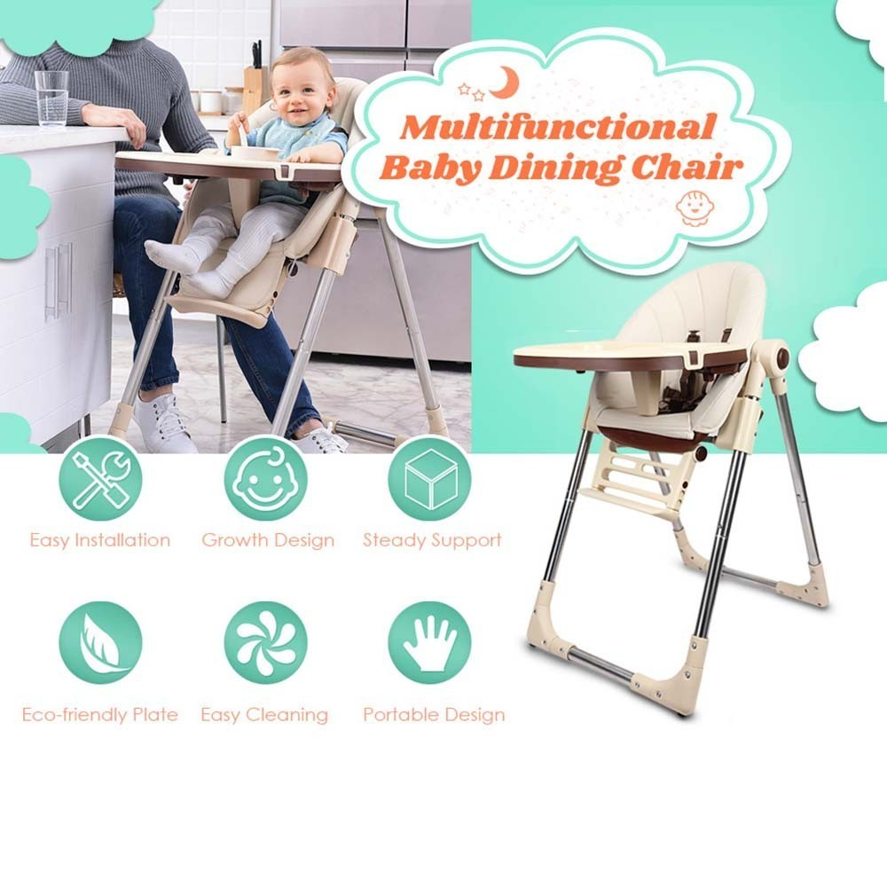 Portable Baby Eating Seats Dining Chair Kids Booster Seat Table Multifunction Adjustable Folding Children's Chairs Baby Stroller стоимость