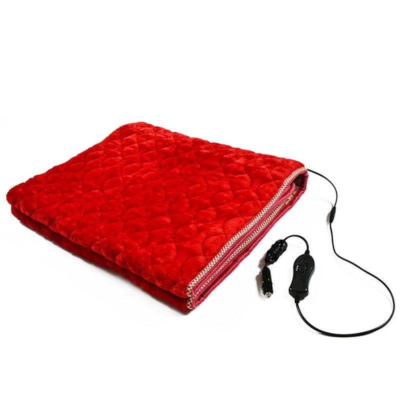 170X60cm Car Electric Blanket Thickening Heating Blanket Bunk Bed Sleeper Mattress Car Electric Blanket 12/24V