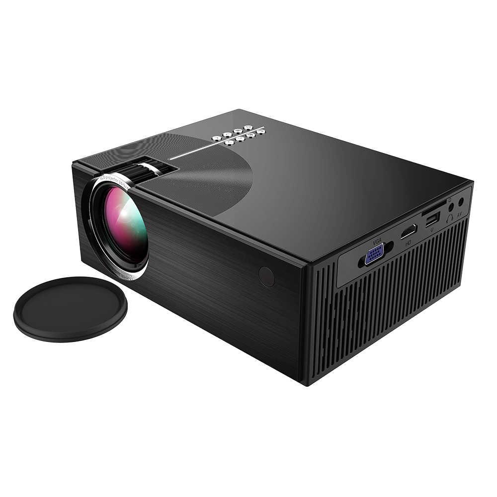 Портативный ЖК-проектор Full HD светодиодный проектор может синхронизировать экран смартфона 1080P поддерживает Срок службы лампы 50000 часов