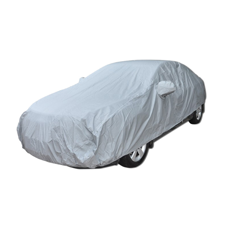 Full Car Cover Indoor Outdoor Sunscreen Heat Protection Dustproof Anti-UV Scratch-Resistant Sedan Universal Suit