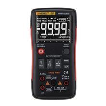 ANENG Q1 истинного среднеквадратичного значения Цифровой мультиметр Кнопка 9999 отсчетов с аналоговую столбчатую диаграмму AC/DC Напряжение тока Амперметр