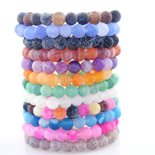 Couple Bracelet Charms Elegant Stone Beads Men Jewelry Bracelets For Women Bangles Pulseira Masculina Bileklik Pulseira Feminina(China)