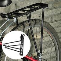 Universal Aluminum Alloy 90kg Max Loading Capacity Bicycle Bike Cycling Rear Seat Shelf Luggage Rack Mountain Bike Accessories