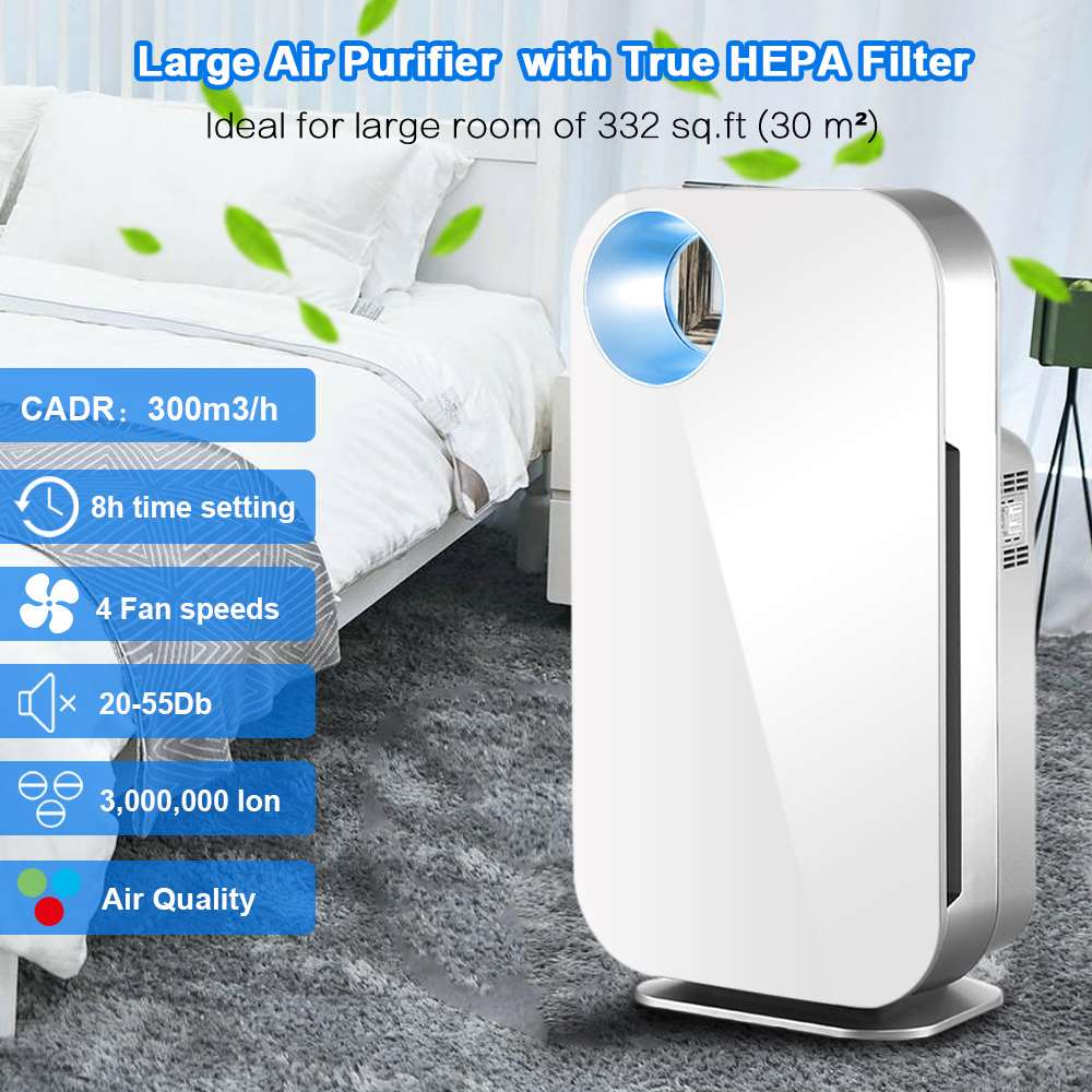 Aliexpress.com : Buy AUGIENB Air Purifier True HEPA Filter Air Cleaner Allergies Eliminator For