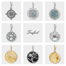 Mayan Calendar Lucky Coin Charms Pendant,2019 Fashion Jewelr