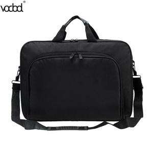 Image 2 - VODOOL Laptop Bag Computer Bag Business Portable Nylon Computer Handbags Zipper Shoulder Laptop Shoulder Handbag High Quality