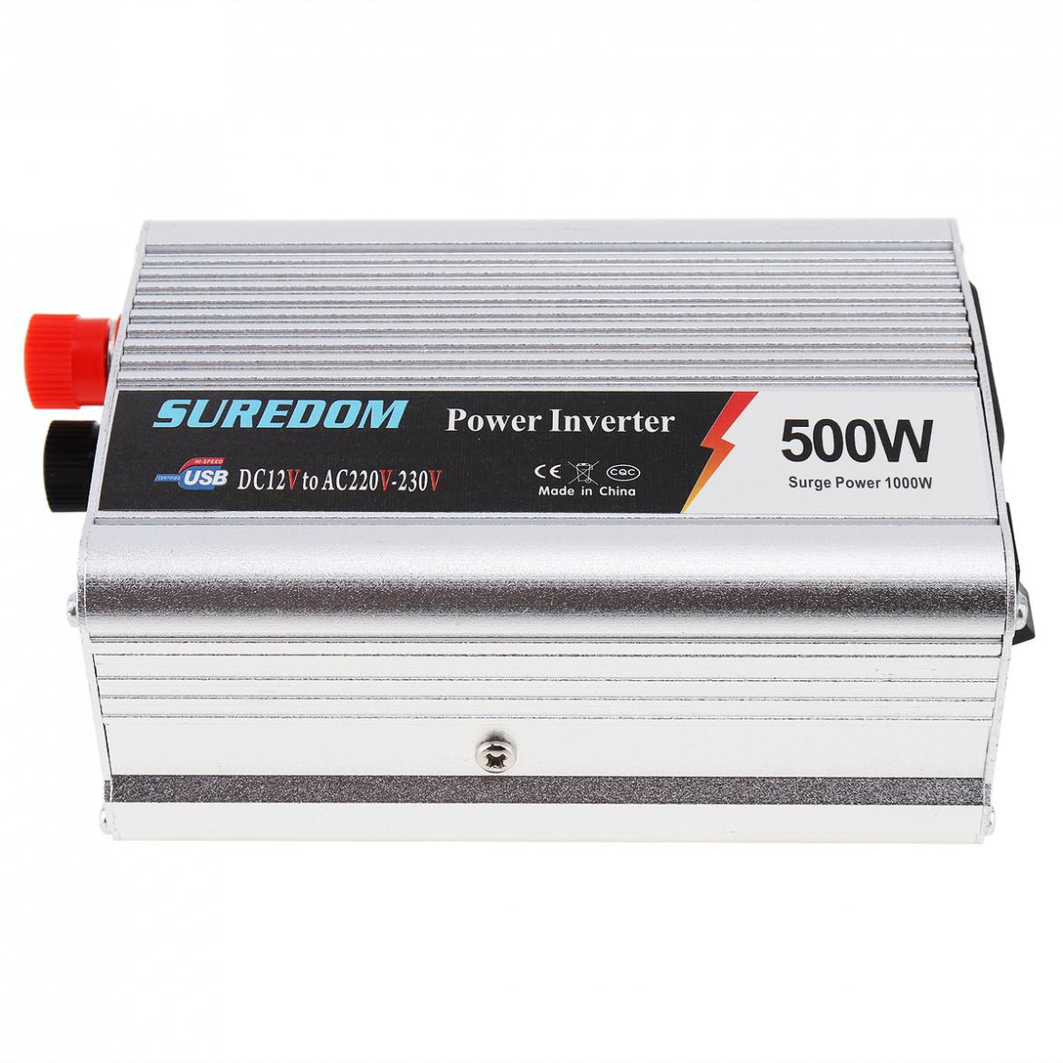 500W Auto-Inverter DC 12V 24V zu AC 220V 110V USB Auto Power Inverter Adapter ladegerät Spannung Transformator Peak Power 1000W