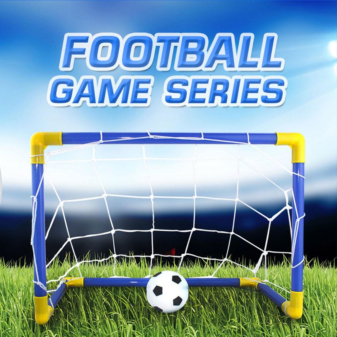 1 Set Outdoor Sports Diy Children Sports Soccer Goals With
