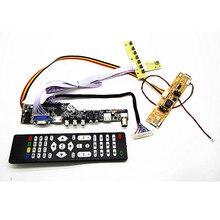 "Tv + Hdmi + Vga + Av + Usb + Audio Tv Lcd Driver Board 21.5 ""M215HGE L21/23 LM215WF4 M215HW01 Vb 1920 * 1080LCD Controller Board Diy Kits"