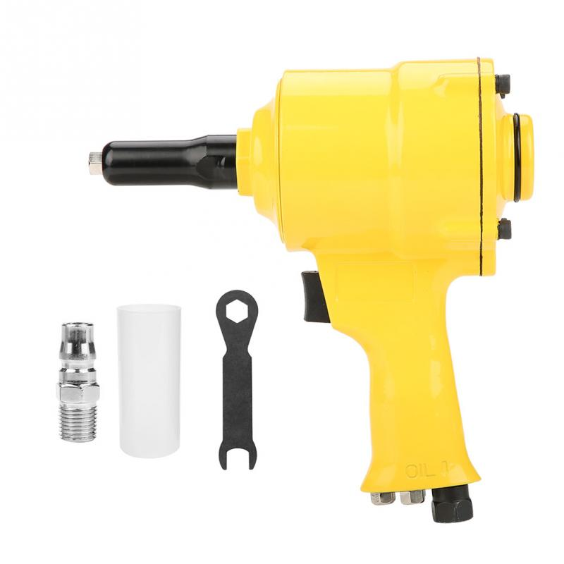 KP 705P Pneumatic Riveter Rivet Gun Air Powered Riveting Tool 2 4 4 8mm With Wrench