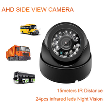 все цены на DC12V/24V AHD Side View Camera 24-LED Night Vision Ahd Aviation Head Interface For Car Monitoring Equipment онлайн