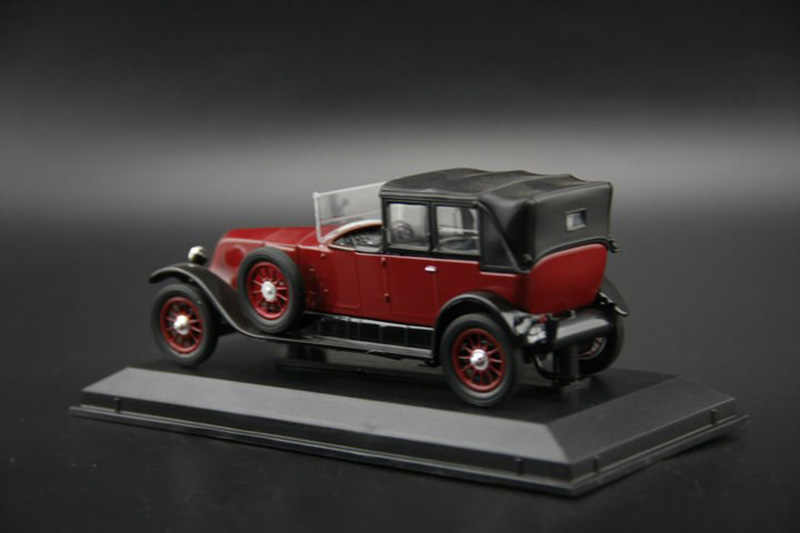 1 43 Renault 40 Cv Type Mc Classic Vintage Replica Toys Car For Collection Gifts