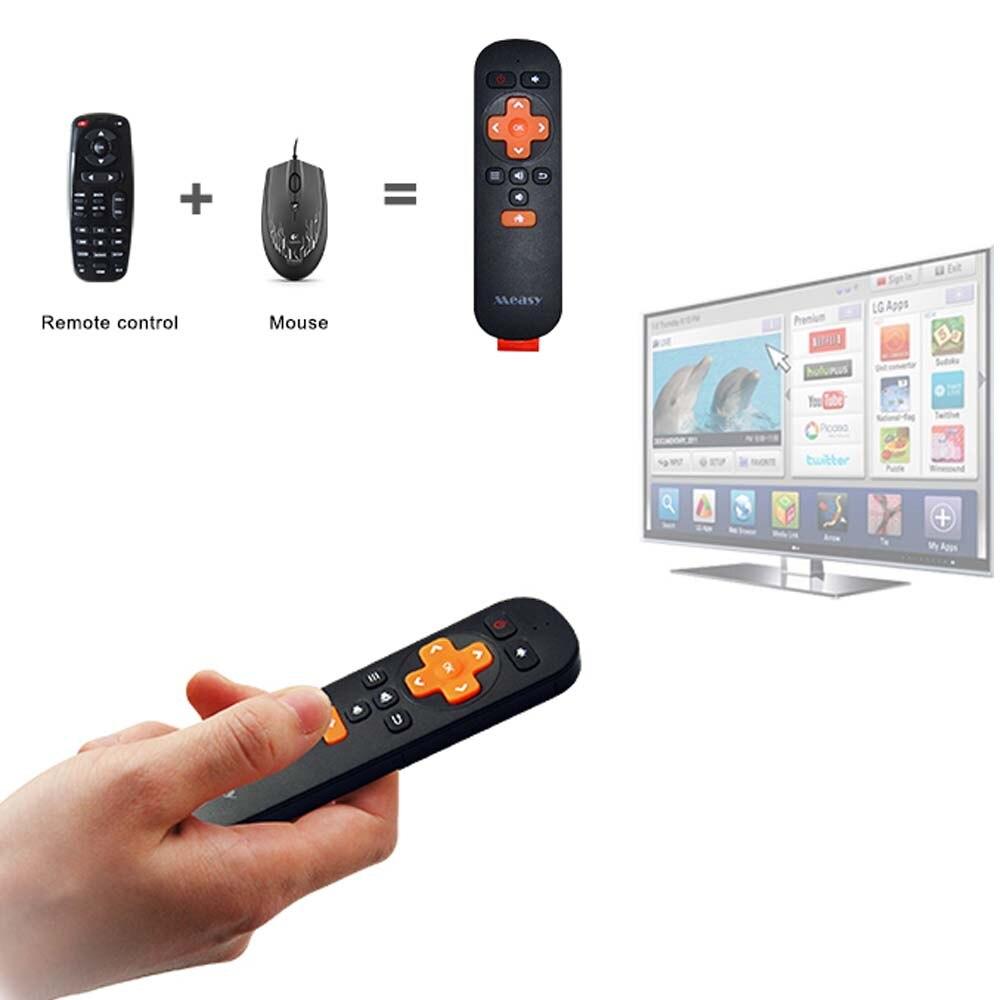 Initiative Measy Rc6 Mini Gyro 2,4g Drahtlose Fernbedienung Fly Air Maus Controller Für Die Tragbare Computer Mini Pc Smart Tv Box Android Fernbedienungen Heimelektronik Zubehör
