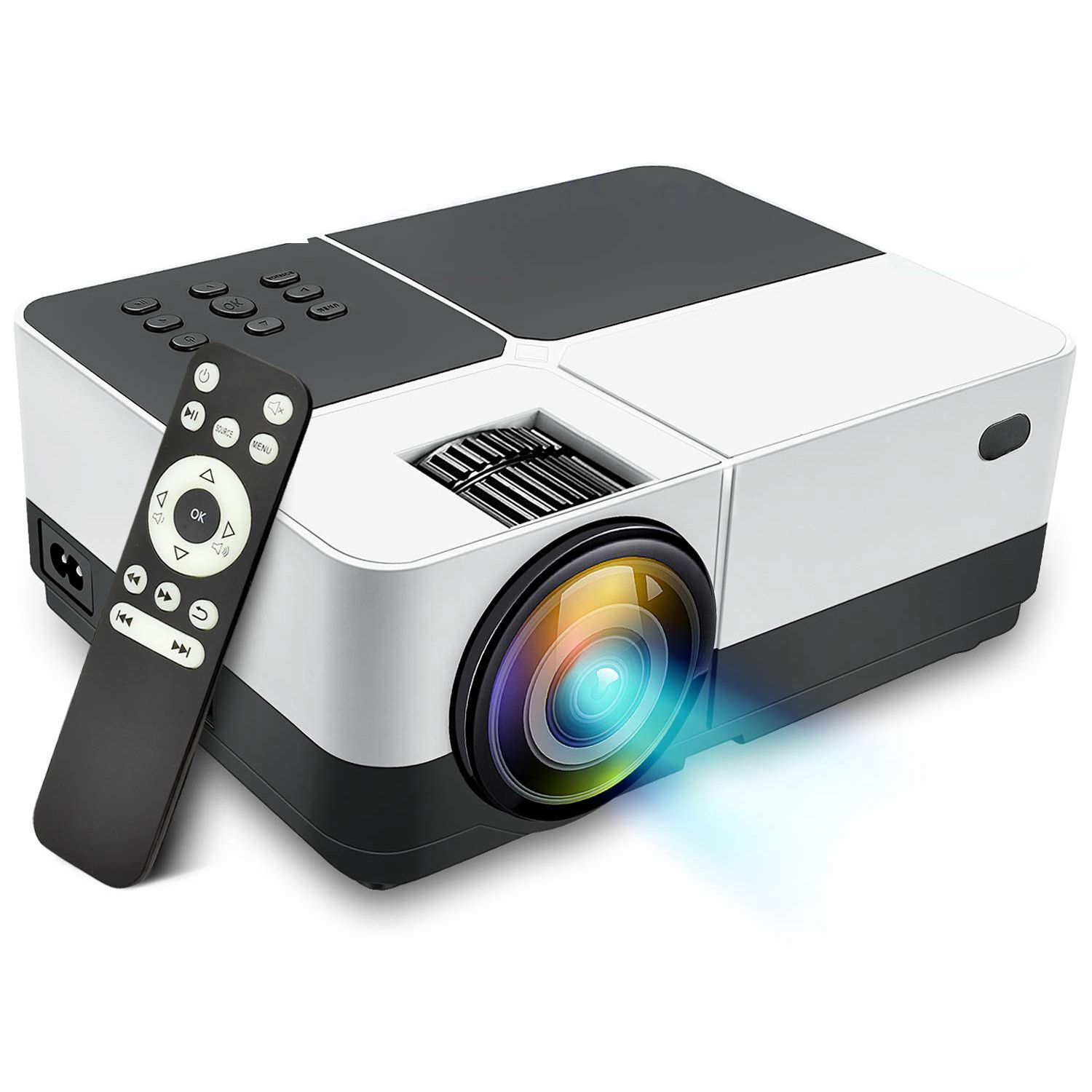 Portable Movie Video LCD LED Projector 2500 Lumens Dolby Surround Sound Home Theater Support 1080PPortable Movie Video LCD LED Projector 2500 Lumens Dolby Surround Sound Home Theater Support 1080P