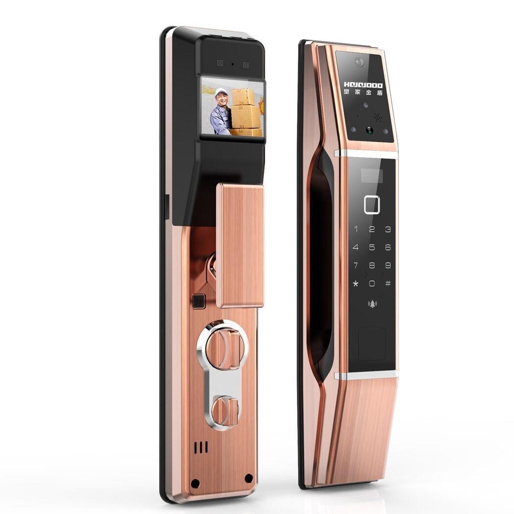 HOJOJODO N0.1 mot de passe électronique sans clé d'empreinte digitale serrure de porte numérique 40-120mm maison intelligente, hôtel, contrôle d'accès scolaire