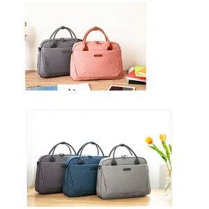 Image 2 - 2020 New Womens Briefcase Office Laptop Bags For Ladies Computer Work Shoulder Messenger Business Bag Handbag Men Travel Bags