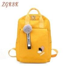 Girl Backpack For Bagpack Women Lovely Backpacks Bags High Middle School Student Bag Canvas Back Pack Female Tassel