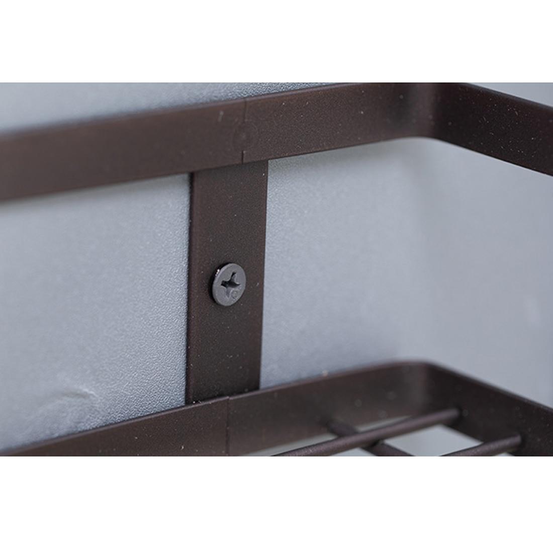 New Nordic Iron Art Storage Rack Wall Hanger Organizer Holder Rack Container Stand for Kitchen Bathroom Livingroom Bedroom Decor in Storage Holders Racks from Home Garden