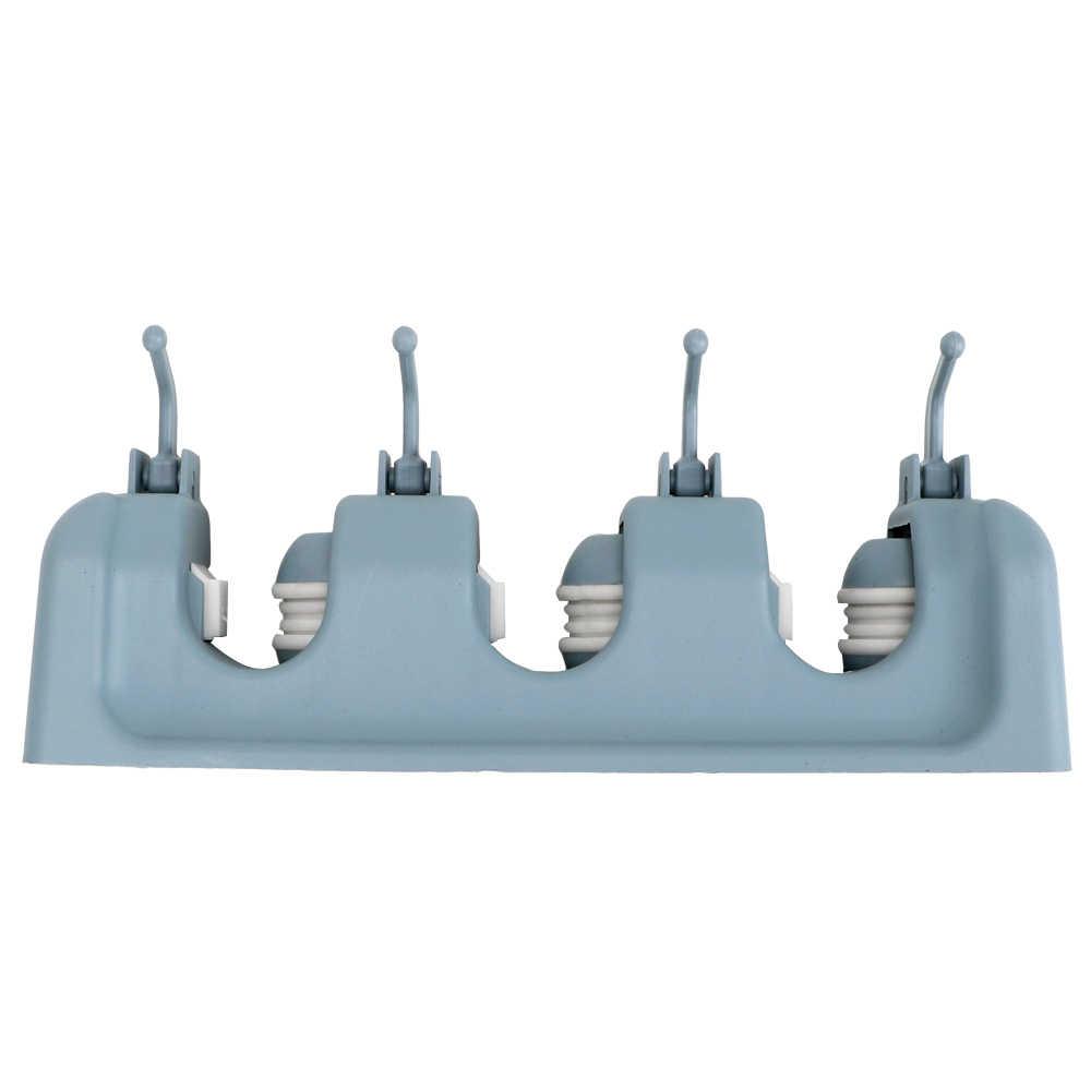 HILIFE ماجيك البلاستيك حامل ممسحة حامل مكنسة الحائط المطبخ تخزين 3 أنماط متعددة الوظائف حامل مكنسة أداة