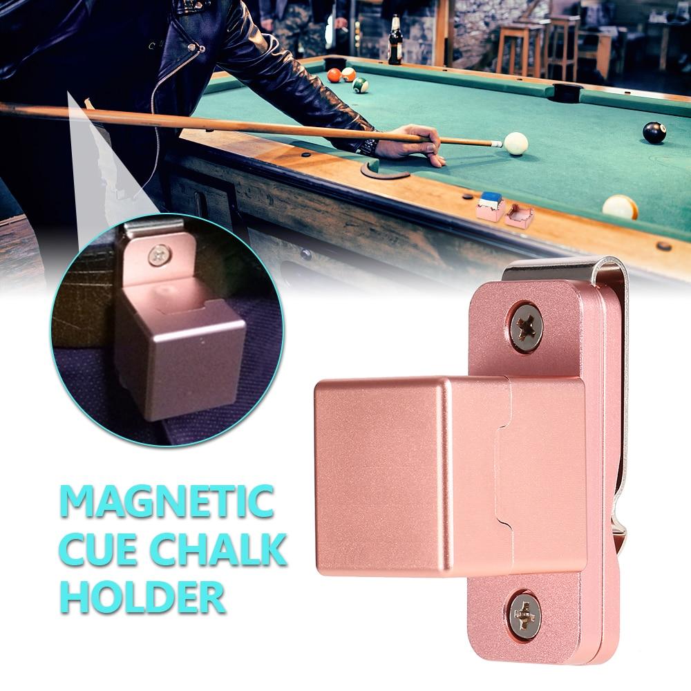 Billiard Pool Table Cue Chalk Holder Red W// Master/'s Chalk Chalker 2