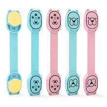 Colorful Baby Safety Lock Drawer Cabinet Cupboard Toilet Safty Locks Child Kids Safety Care Straps Locks Infant Protection