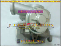 Turbo CT26 17201-17050 750001 750001-5002 S 750001-0001 TOYOTA Land Cruiser 100 Için 5AT 2004 -05 1 HDFTE 1HD-FTE 6cyl 204HP 4.2L D
