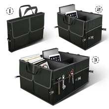 Складной автомобильный багажник для хранения сумка коробка черный инструмент еда игрушки товары Органайзер автомобиль авто Интерьер чемодан коробка укладка Tidying контейнер