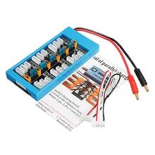 XT30 V3 ParaBoard Placa de carga paralela Banana Plug para iMax B6 cargador para XT30 enchufe Lipo batería RC modelos multicóptero DIY