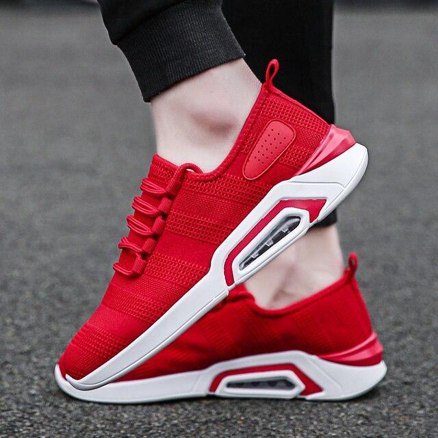 2019 running shoes for men atlético treinamento de verão ao ar livre respirável  calçados esportivos lace-up masculino tênis De Fitness tamanho 39 -46 a8cb39dc6f283