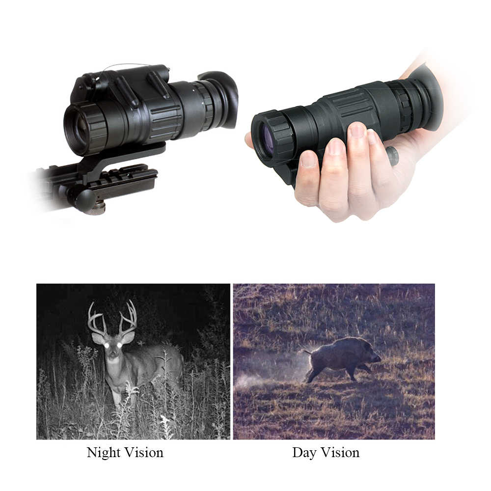 200M Hunting Digital Night Vision Monocular Scope Outdoor Compact Telescope for Hunting Animal Watching Night Vision Monocular