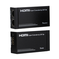 30m Wireless HDMI Transmitter Receiver HDMI Extender Splitter Support 1080P 165MHz/165Gbps Single Channel Mayitr without delay