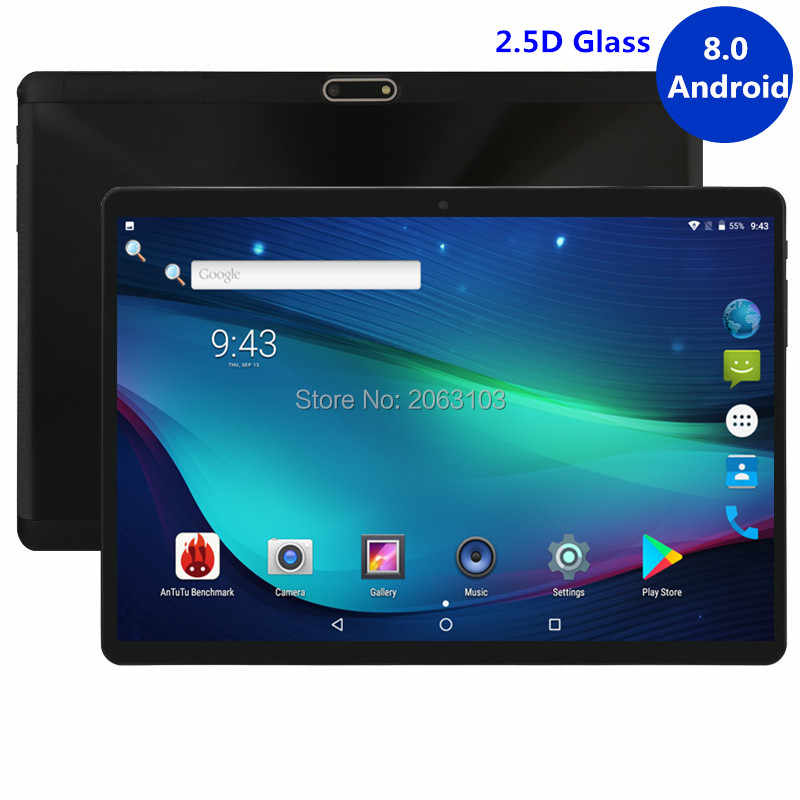10 Inch tablet Support Youtube Octa Core 4GB RAM 64GB ROM 3G 4G FDD LTE Phone Call Android 8.0 Tablet GPS WIFI 1280X800 IPS Pad