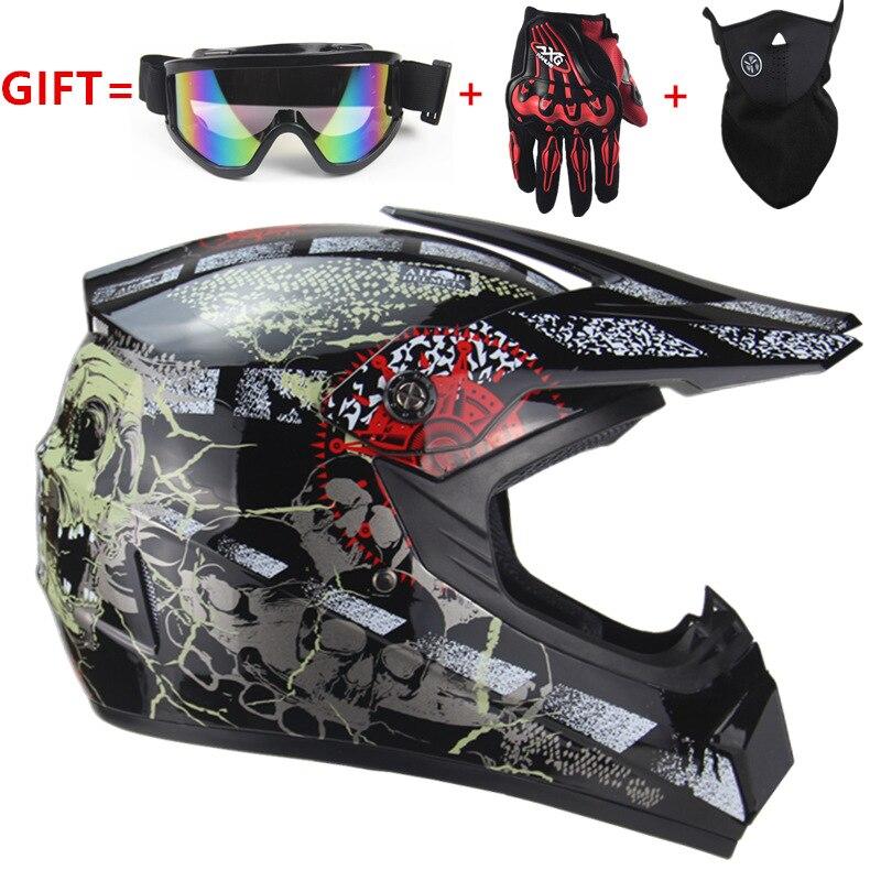 Free Shipping cross motorcycle helmet mens moto helmet Downhill MTB DH off road motocross racing helmet