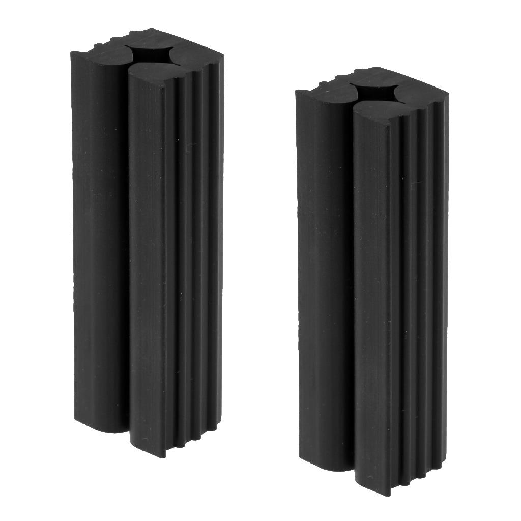 2 pezzi di Gomma di Qualità Premium Morsa Morsetto per il Golf shafts Golf Grip Strumento di Riparazione