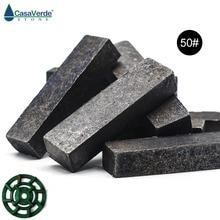 12 шт./компл. Grit 50 алмазные сегменты для шлифовки и полировки поверхности грубая шлифовка для гранитных плит