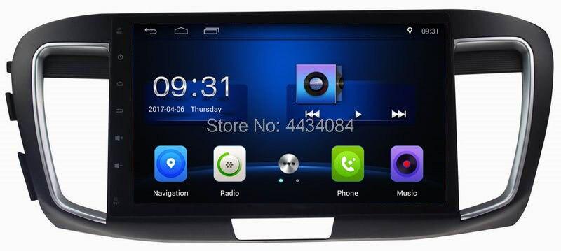 Ouchuangbo voiture audio stéréo écran numérique gps nav pour Accord 9 (2.0 faible) prise en charge USB SWC wifi BT android 8.1 4 core 2 + 32