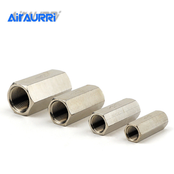 304 stainless steel check valves gas water one-way valve 1/8'' 1/4'' 3/8'' 1/2''