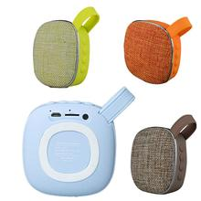 X25 Cloth Mesh Fabric Wireless Bluetooth Speaker Mini Card Charging Outdoor Sports Portable Bike Backpack Small Stereo Support T
