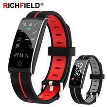 цена на Smart Watch IP68 Waterproof Blood Pressure Monitor Pedometer Sport Fitness Bracelet Activity Tracker Smart Band Health Wristband