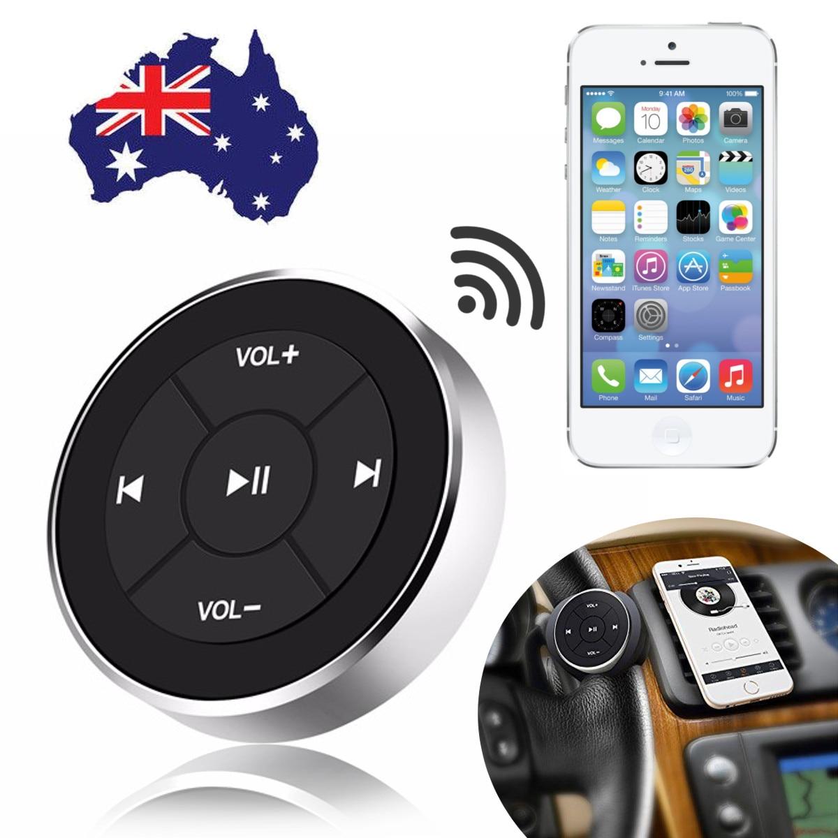 IMars BT-005 12M voiture bluetooth récepteur média bouton série télécommande Smartphone Audio vidéo bluetooth média bouton