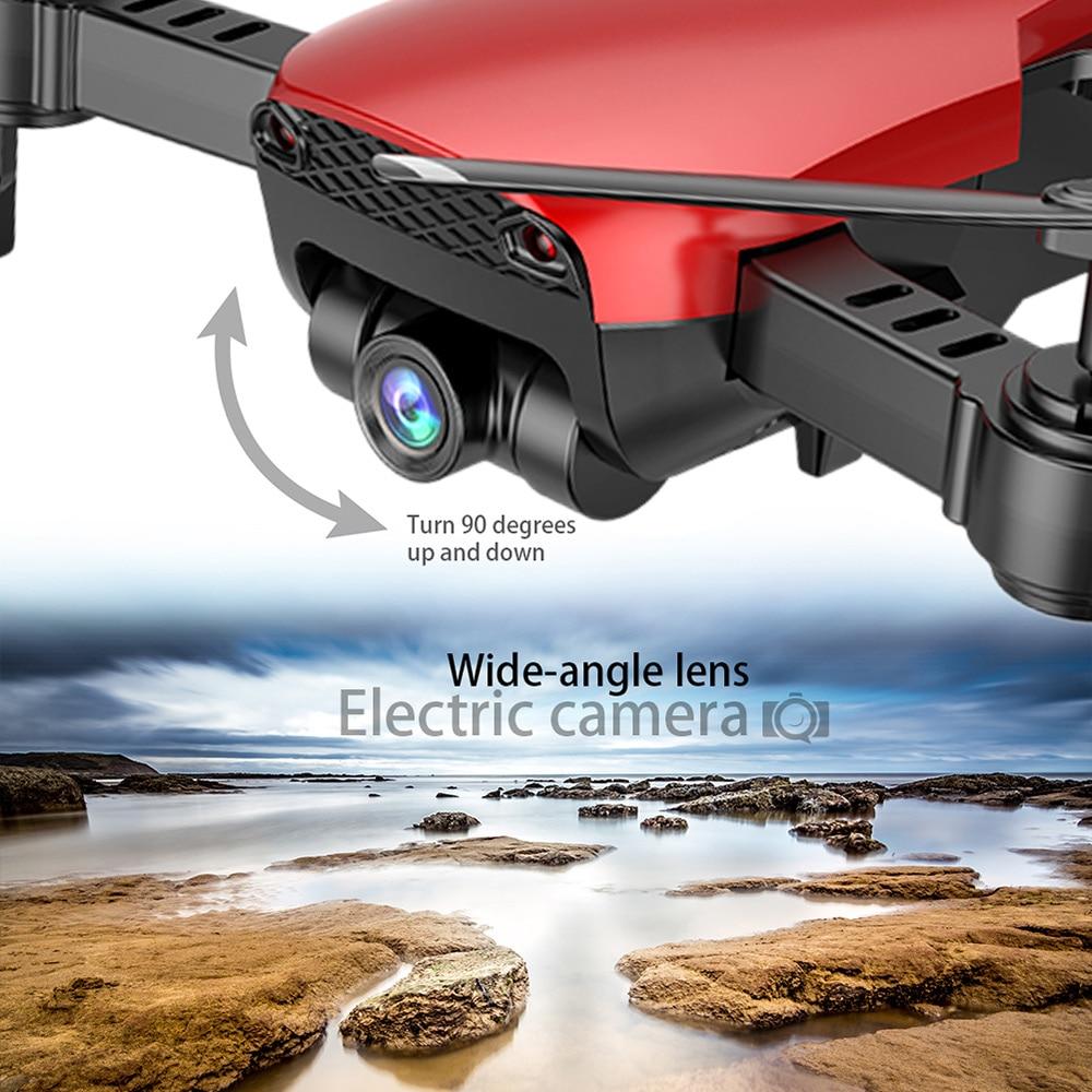 Dongmingtuo X12 szeroki kąt dron z kamerą 720 P WiFi dron FPV wysokości App sterowania jeden klawisz powrotu RC Quadcopter helikopter w Helikoptery RC od Zabawki i hobby na  Grupa 2