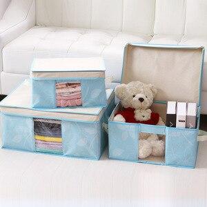 Image 3 - 2019 Multi hoja Fund Can Window Bana Box calidad Superior aceptar bolsa de viaje armario organizador bolsa de almacenamiento para ropa