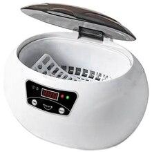 600 мл ультразвуковой очиститель Таймер для ванны для ювелирных изделий запчасти очки маникюрные камни фрезы стоматологическая щетка для бритья ультразвуковая звуковая-Us P
